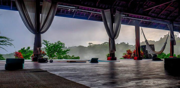 Yoga deck costa rica