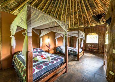 Bungalow 2 double beds