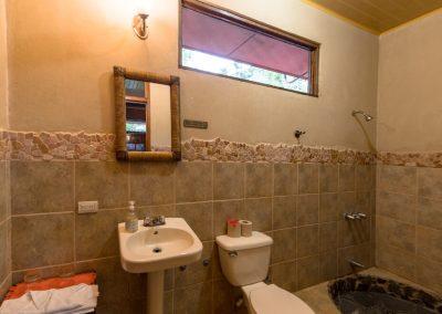 Hacienda room bathroom