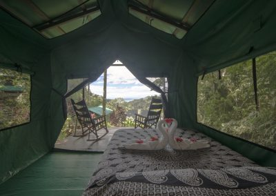 Tent inside 2