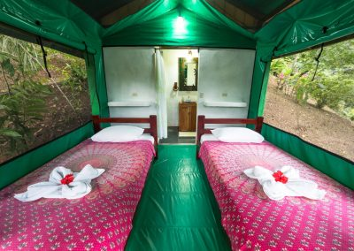 Tent inside 4